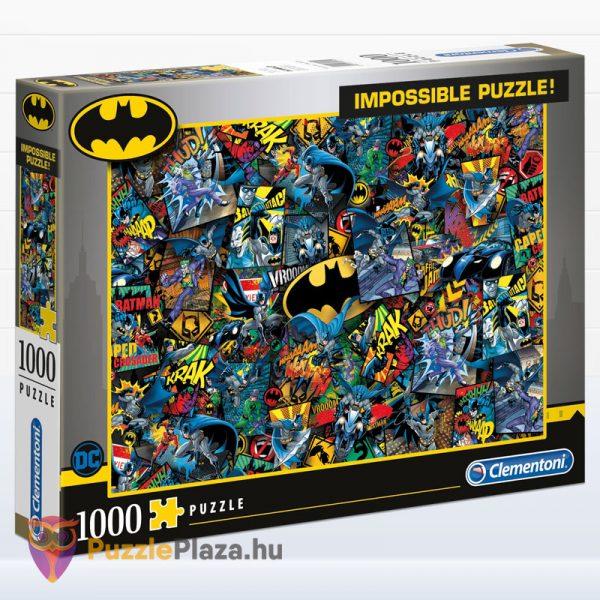 1000 darabos Batman Lehetetlen Puzzle, Clementoni 39575