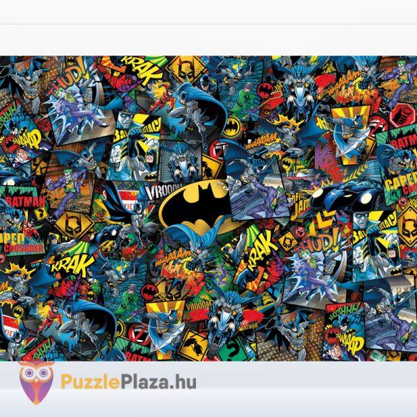 1000 darabos Batman Lehetetlen Puzzle, Clementoni 39575 kirakott kép
