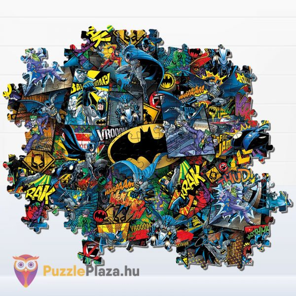 1000 darabos Batman Lehetetlen Puzzle, Clementoni 39575 részlet