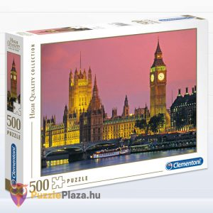 500 darabos Big Ben, London Puzzle, Clementoni - High Quality Collection 30378
