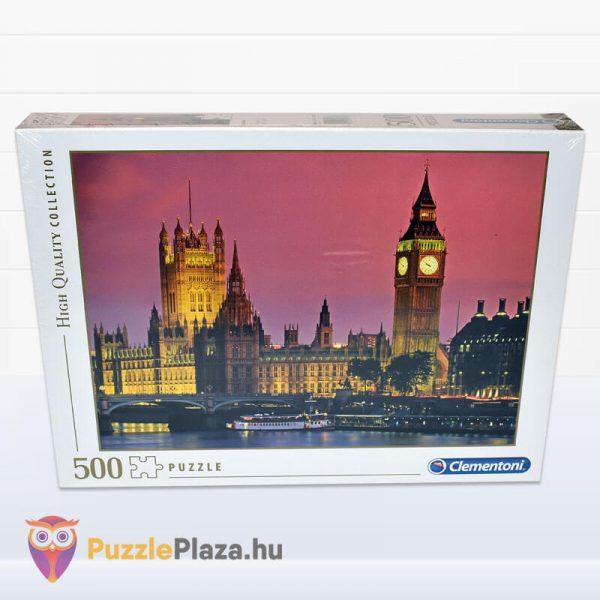 500 darabos Big Ben, London Puzzle, Clementoni - High Quality Collection 30378 előről
