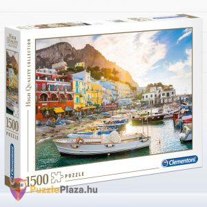 1500 darabos Capri Puzzle. Clementoni - High Quality Collection 31678