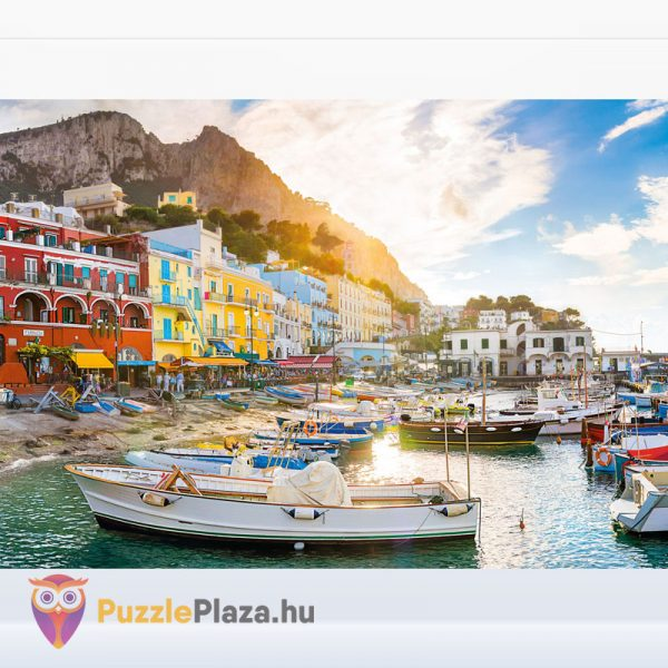 1500 darabos Capri Puzzle. Clementoni - High Quality Collection 31678 kirakott kép