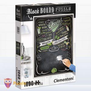 1000 darabos Cheers puzzle - Clementoni Black Board Puzzle 39467