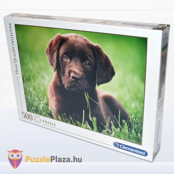 500 darabos, csoki színű, barna kutyua - Clementoni High Quality Collection 35072 - elforgatva