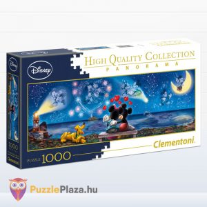 1000 darabos disney mickey, minnie és plútó - Clementoni High Quality Collection 39449