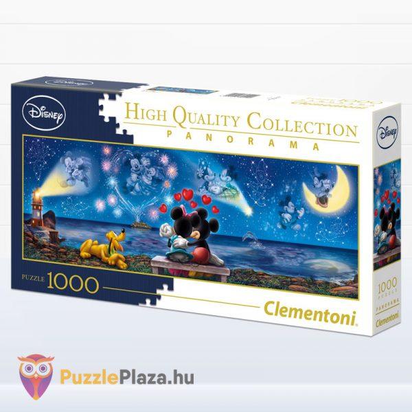 1000 darabos disney mickey, minnie és plútó - Clementoni High Quality Collection 39449 balról