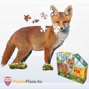 100 darabos rokás forma puzzle junior. Wow Toys 4001 - kirakott kép és doboz