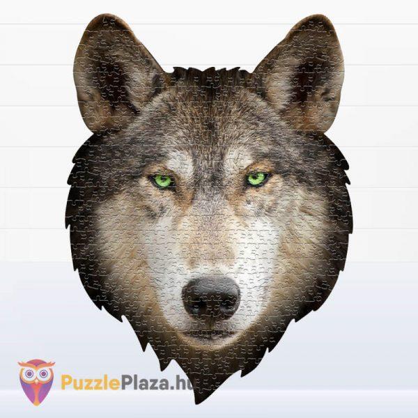 550 darabos farkas forma puzzle kirakott képe - Wow Toys 3003