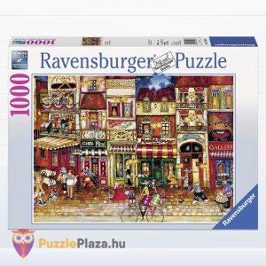 1000 darabos Franciaország utcái puzzle - Ravensburger 19408