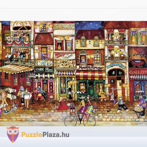 1000 darabos Franciaország utcái puzzle - Ravensburger 19408 kirakott kép