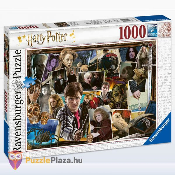 1000 darabos Harry Potter vs Gegen Voldemort Puzzle - Ravensburger