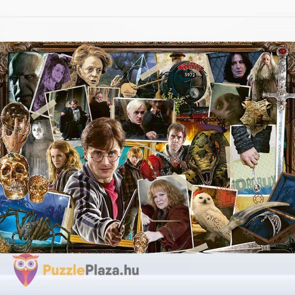1000 darabos Harry Potter vs Gegen Voldemort Puzzle - Ravensburger kirakott képe