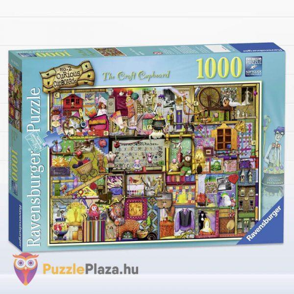 1000 darabos kézműves szekrény Puzzle (Colin Thompson által festett) - Ravensburger 19412