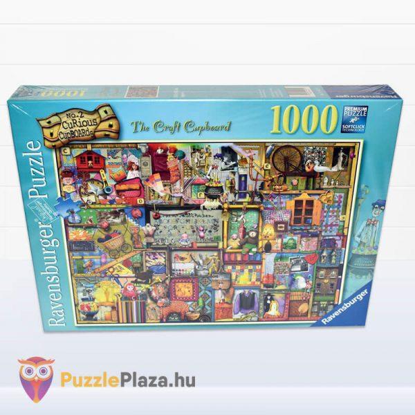 1000 darabos kézműves szekrény Puzzle (Colin Thompson által festett) - Ravensburger 19412 előről