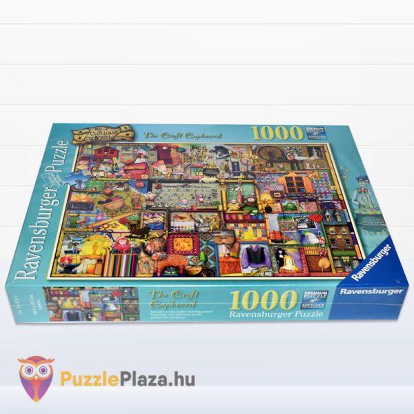 1000 darabos kézműves szekrény Puzzle (Colin Thompson által festett) - Ravensburger 19412 fektetve