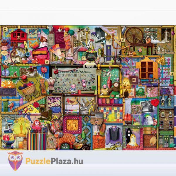 1000 darabos kézműves szekrény Puzzle (Colin Thompson által festett) - Ravensburger 19412 kirakott kép