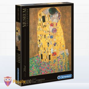 1000 darabos Klimt - A Csók Puzzle - Clementoni Museum Collection 31442