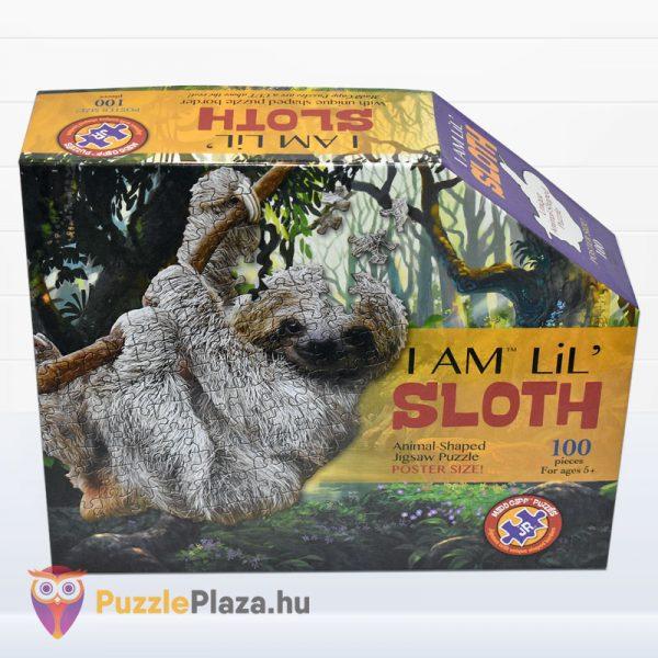 100 darabos lajhár formájú puzzle, Wow Toys - előről