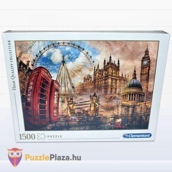 1500 darabos Londoni Nosztalgia Puzzle, Clementoni 31807 előről