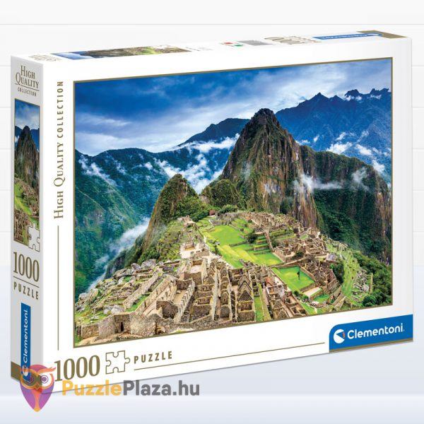 1000 darabos Machu Picchu tájkép puzzle - High Quality Collection - Clementoni 39604