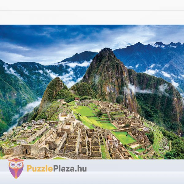 1000 darabos Machu Picchu tájkép puzzle - High Quality Collection - Clementoni 39604 kirakott kép