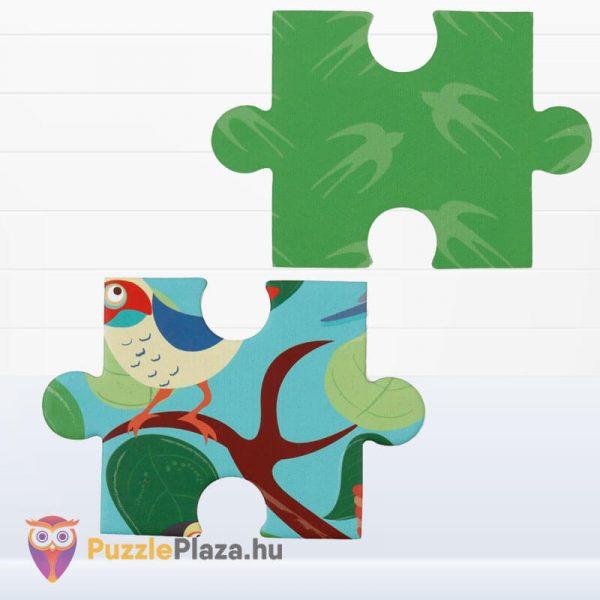 58 darabos madarak a fán forma puzzle - Scratch Europe - kirakó darabkái