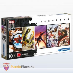 1000 darabos Marvel - 80 éves jubileumi panoráma puzzle - Clementoni 39546