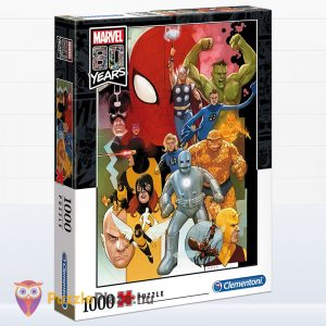 1000 darabos Marvel - 80 éves jubileumi puzzle - Clementoni 39534