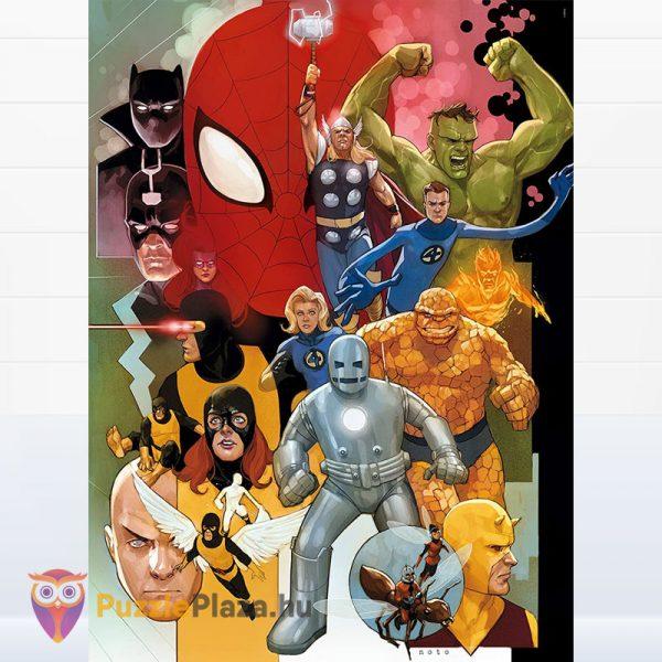 1000 darabos Marvel - 80 éves jubileumi puzzle - Clementoni 39534 kirakott kép