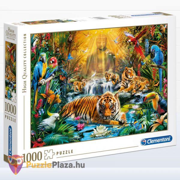 1000 darabos misztikus tigrisek puzzle - Clementoni High Quality Collection 39380