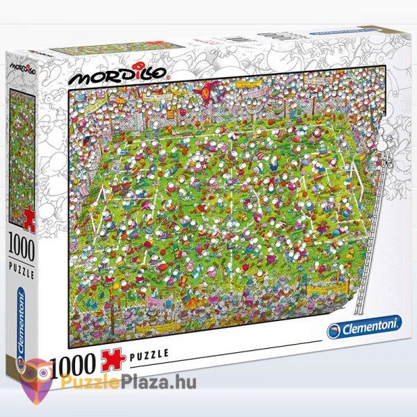 1000 darabos Mordillo - A Meccs puzzle - Clementoni 39537