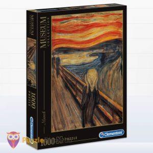 1000 darabos Munch - A Sikoly Puzzle - Clementoni Múzeum Kollekció 39377