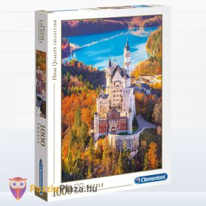 1000 darabos Neuschwanstein Kastály Puzzle - Clementoni High Quality Collection 39382