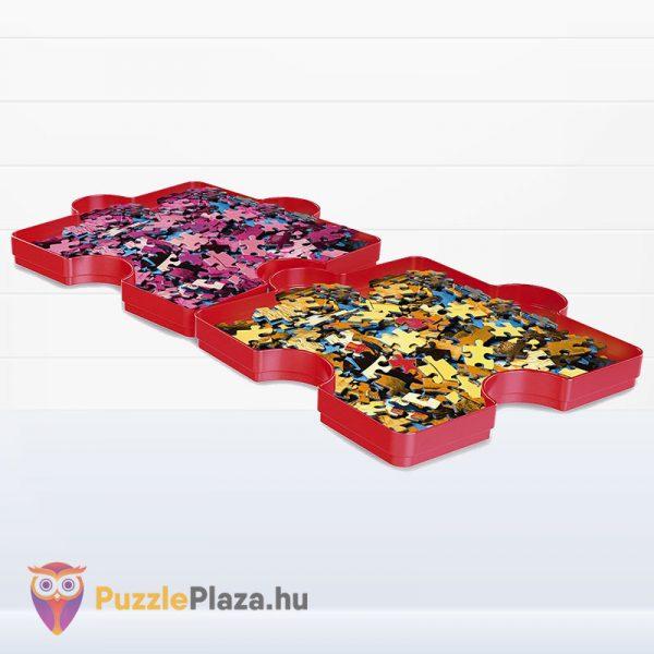 6 darabos piros Clementoni puzzle szortírozó tálca 37040 tálca