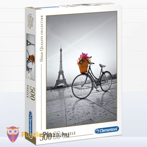 500 darabos romantikus Eiffel-torony puzzle - Clementooni High Quality Collection 35014