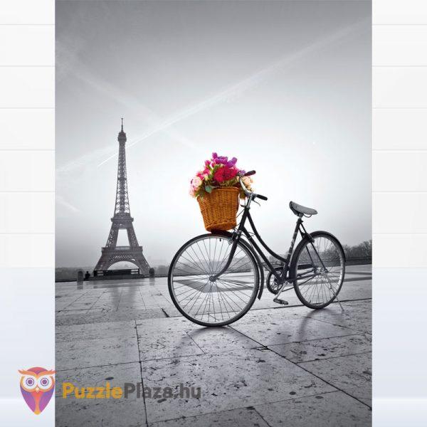 500 darabos romantikus Eiffel-torony puzzle - Clementooni High Quality Collection 35014 kirakott kép