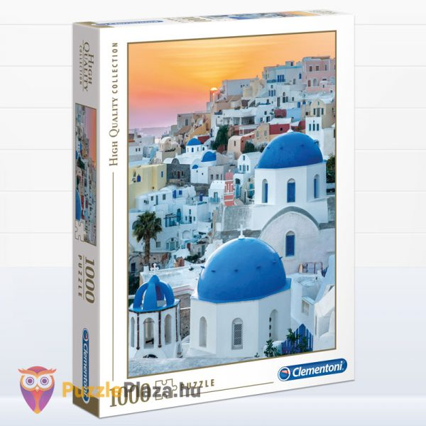 1000 darabos Santorini puzzle - Clementoni High Quality Collection 39480