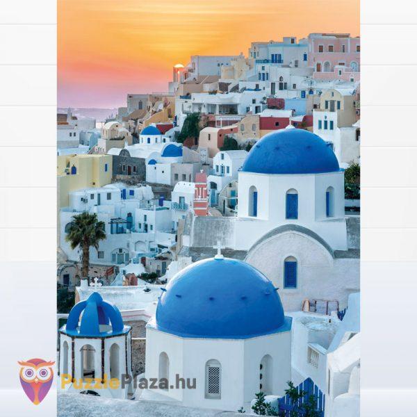1000 darabos Santorini puzzle - Clementoni High Quality Collection 39480 kirakott kép