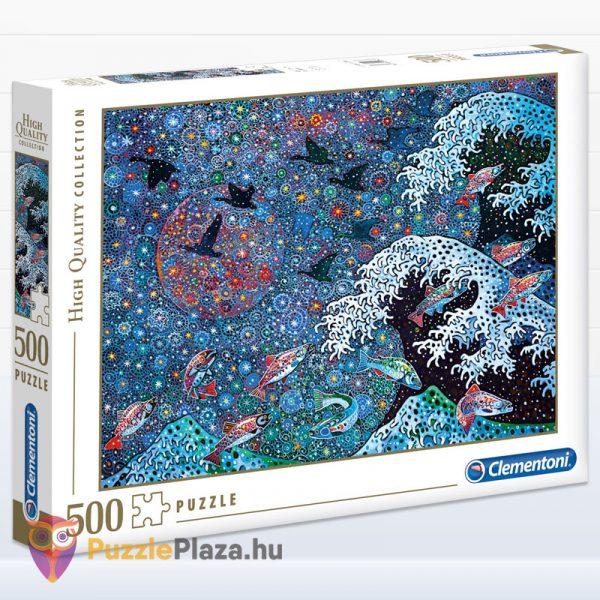 500 darabos Tánc a Csillagokkal puzzle. Clementoni - High Quality Collection 35074