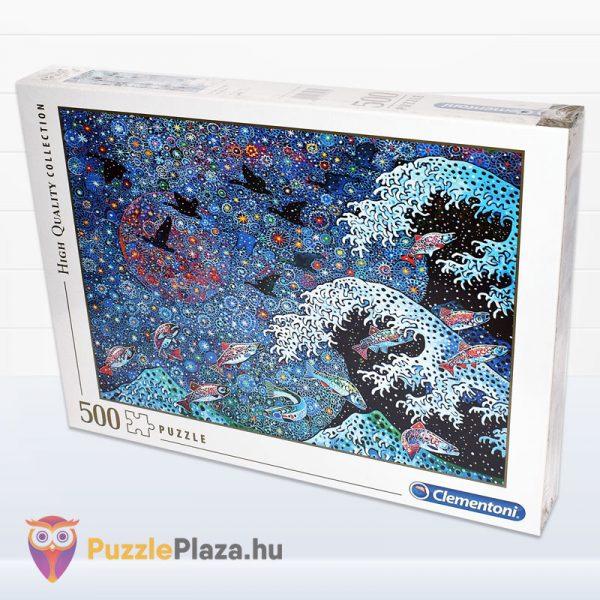500 darabos Tánc a Csillagokkal puzzle. Clementoni - High Quality Collection 35074 elforgatva