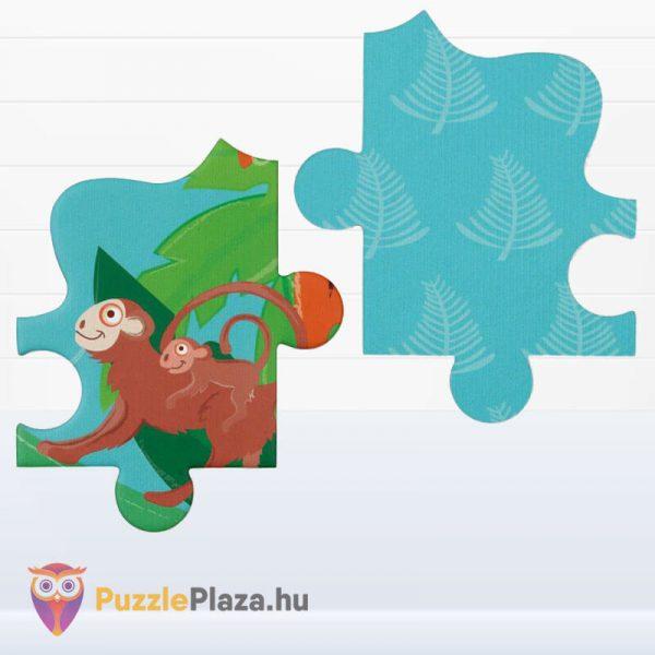 59 darabos tigris forma oktató puzzle - Scratach Europe - kirakó darabkái