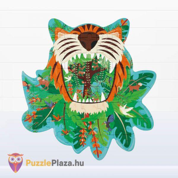 59 darabos tigris forma oktató puzzle - Scratach Europe - kirakott kép