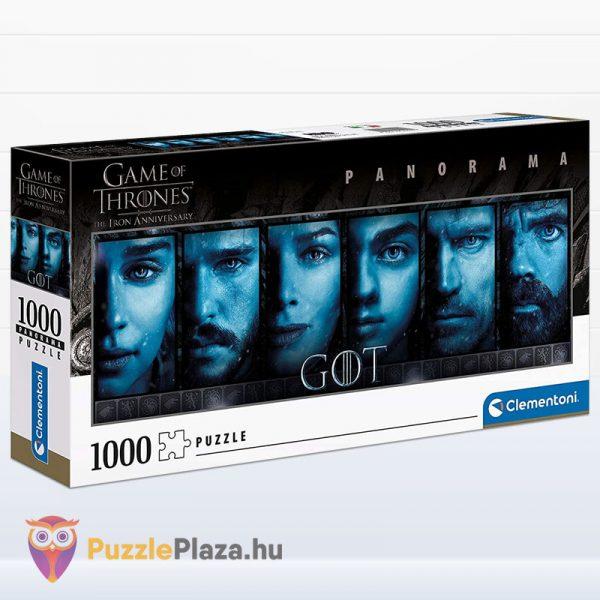 1000 darabos Trónok Harca panoráma puzzle - Game of Thrones Clementoni 39590