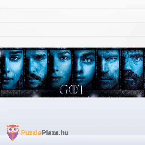 1000 darabos Trónok Harca panoráma puzzle - Game of Thrones Clementoni 39590 kirakott kép