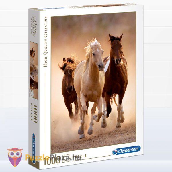 1000 darabos vágtató lovas puzzle. Clementoni - High Quality Collection 39168