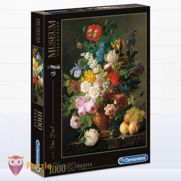 1000 darabos Van Dael - Csendélet Gyümölcsökkel Puzzle - Museum Collection 31415
