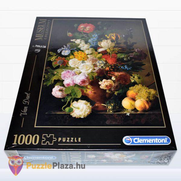 1000 darabos Van Dael - Csendélet Gyümölcsökkel Puzzle - Museum Collection 31415 fektetve