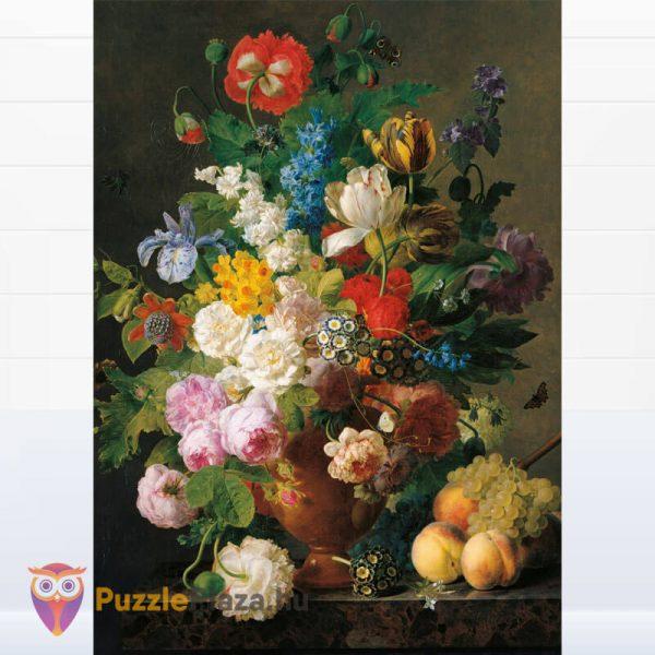 1000 darabos Van Dael - Csendélet Gyümölcsökkel Puzzle - Museum Collection 31415 kirakott kép
