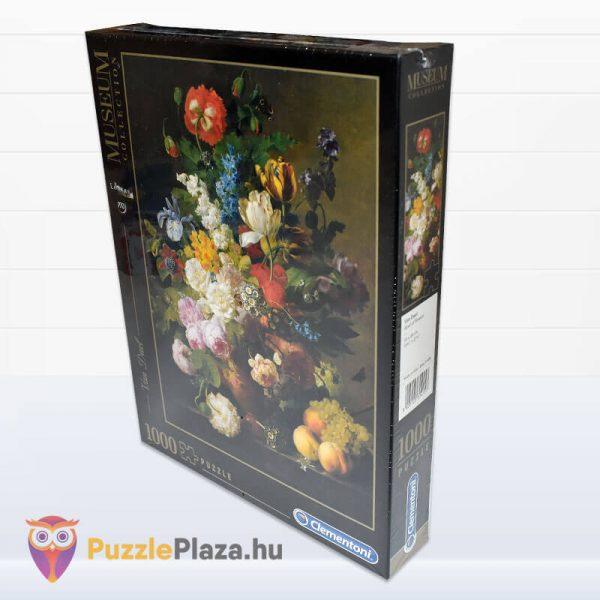 1000 darabos Van Dael - Csendélet Gyümölcsökkel Puzzle - Museum Collection 31415 oldalról
